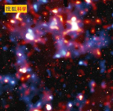 银河系暗物质成块现象比先前严重(组图)