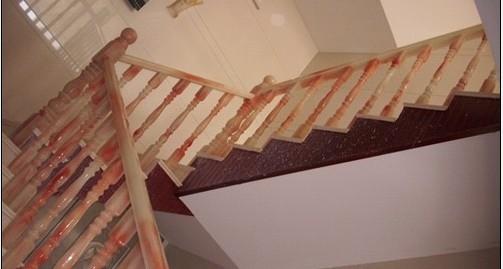 水晶玉石楼梯扶手展示1